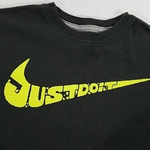 Nike Shirts & Tops - Nike Grey Just Do It Grey T-shirt S small in boys